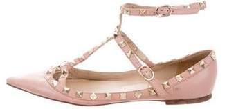 Valentino Rockstud Ballerina Flats