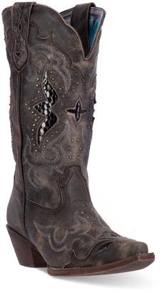 Laredo Lucretia Women's Snakeskin Print Cowboy Boots