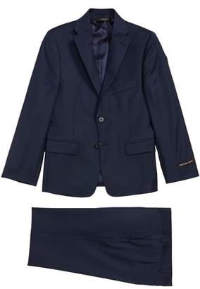 Michael Kors Mini Grid Wool Suit