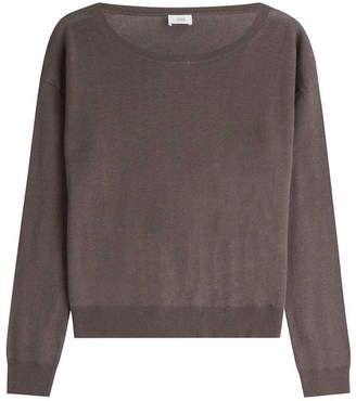 Closed Linen-Cotton Pullover