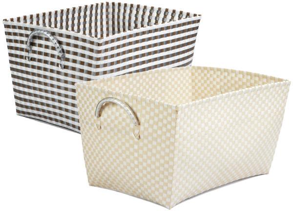 Woven Nylon Laundry Basket