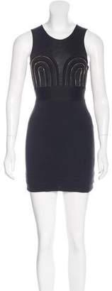 Alice McCall Zip-Accented Mini Dress