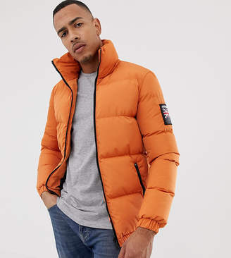 Asos Good For Nothing puffer jacket in orange exclusive to