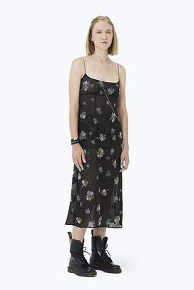 Marc Jacobs Floral Embroidered Chiffon Dress