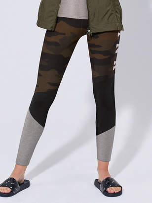 PINK High Waist Cotton Colorblock Camo Legging