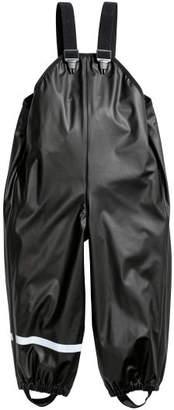 H&M Rain Pants with Suspenders - Black