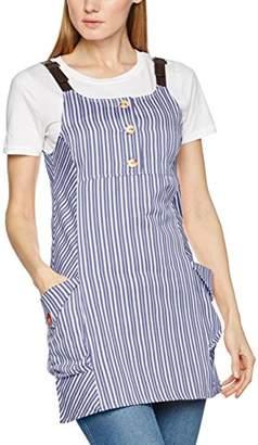 Joe Browns Women's Ticking Stripe Tunic Blouse, Blue
