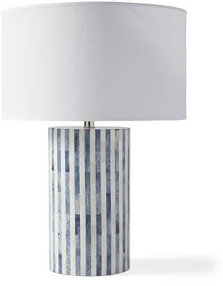 Serena & Lily Bar Harbor Bone Inlay Table Lamp