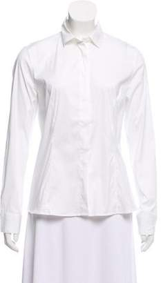 Brunello Cucinelli Long Sleeve Button Down Top w/ Tags