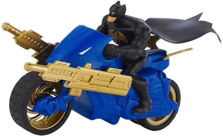 Batman DC Comic Unlimited BatCycle Vehicle Action Figure