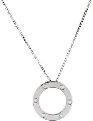 Cartier 6 Diamond LOVE Necklace