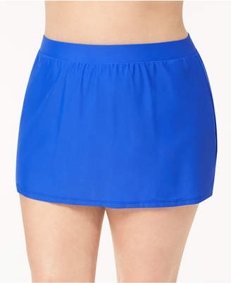 Go by Gossip Plus Size Swim Skirt, Created for Macy's Women's Swimsuit