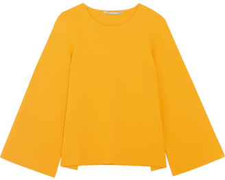 Stella McCartney - Cutout Knitted Top - Marigold $925 thestylecure.com