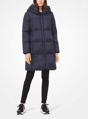 Michael Kors Quilted Hooded Puffer