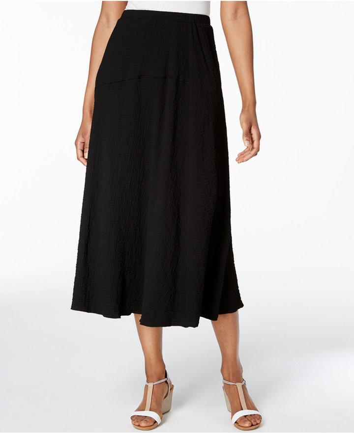 Alfred DunnerAlfred Dunner Petite A-Line Midi Skirt