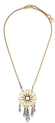 Lulu Frost Crystal Pendant Necklace $75 thestylecure.com
