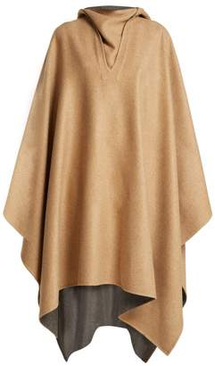 Givenchy Reversible Cashmere Cape - Womens - Camel