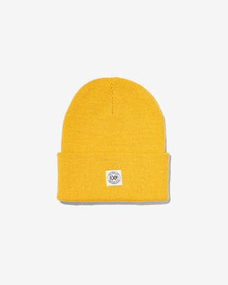 Express Exp Patch Turnback Beanie