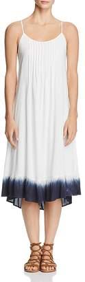 Splendid Dip-Dye Pintuck Dress