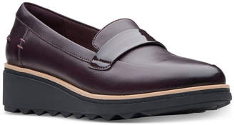 Clarks Collection Women's Sharon Gracie Platform Loafers, Created for Macy's