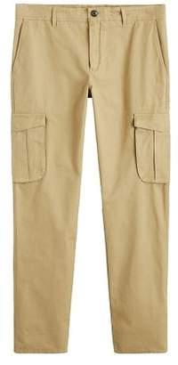 Mango Man MANGO MAN Cotton cargo trousers