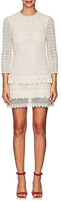 Philosophy di Lorenzo Serafini Women's Macramé Minidress - Ivorybone