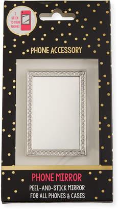 Tricoastal Design Tri Coastal Design Crystal Mirror Phone Sticker, Silver