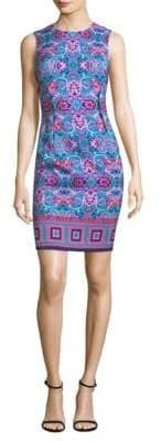 Versace Acanthus Sheath Dress
