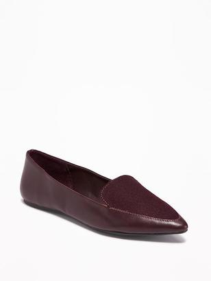 Pointy Smoking Flats for Women $26.94 thestylecure.com