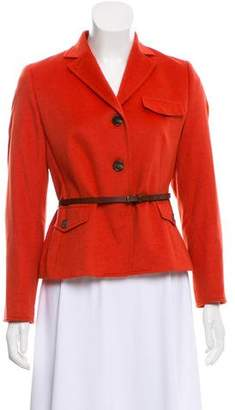 Akris Punto Wool Blend Casual Jacket