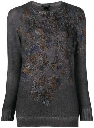 Avant Toi printed sweater
