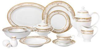 Chloé Lorren Home Trends 57-pc Dinnerware Set, Service for 8