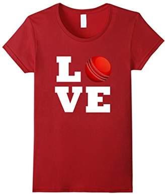 I Love Cricket T-Shirt - Cricket Lovers Shirt