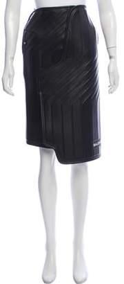 Balenciaga 2017 Car Design Skirt w/ Tags Black 2017 Car Design Skirt w/ Tags
