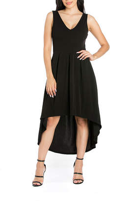 24/7 Comfort Apparel Sleeveless Fit & Flare Dress