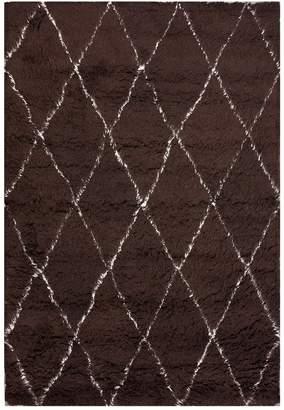 nuLoom Handmade Marrakech Wool Shag Rug