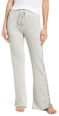 David Lerner Flare Leg Lounge Pants