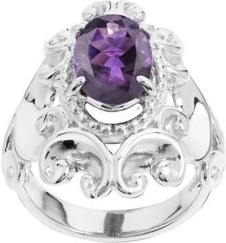 Carolyn Pollack Sterling Harmony Gemstone Bold Ring