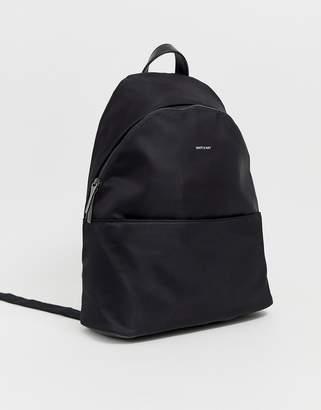 Matt & Nat nylon backpack in black