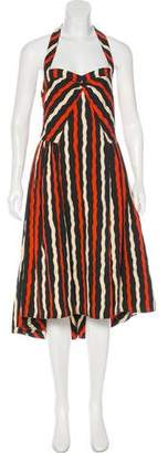 Marc by Marc Jacobs Striped Halter Dress