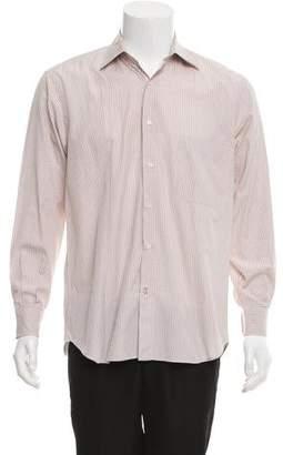 Salvatore Ferragamo Striped Dress Shirt