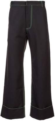 Chin Mens patch pocket trousers