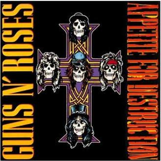 N. Guns N' Roses Appetite For Destruction - Vinyl Record - Women's