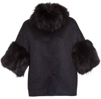 Bully Cropped Fur Coat