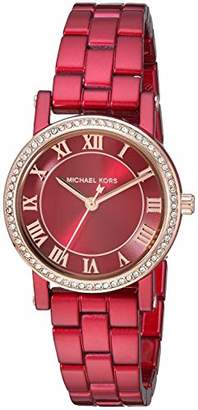 Michael Kors Women's 'Norie' Quartz Stainless-Steel-Plated Watch