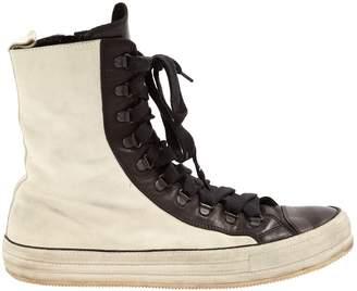 Ann Demeulemeester Black Suede Boots