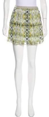 Theyskens' Theory Sayer Silk Skirt w/ Tags
