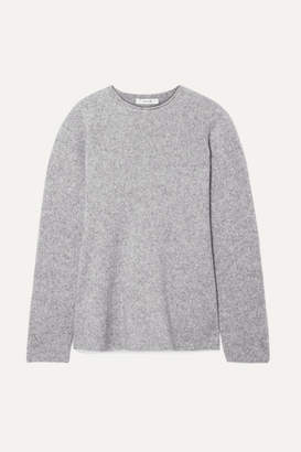 The Row Sabel Cashmere-blend Sweater - Gray