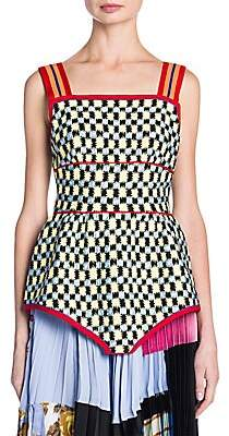 Marni Women's Check Print Tank Top