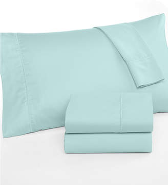 Martha Stewart Collection CLOSEOUT! Collection California King Open Stock Fitted Sheet, 300 Thread Count 100% Cotton, Created for Macy's